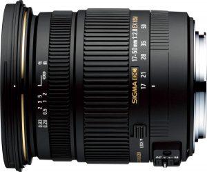 Sigma 17-50mm f/2.8 EX DC OS HSM objektiiv Nikonile