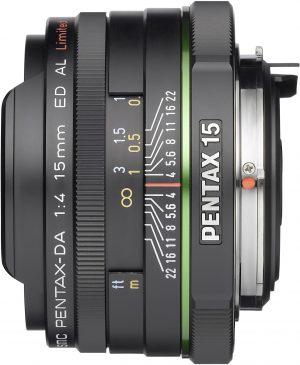 smc Pentax DA 15mm f/4.0 ED AL Limited objektiiv