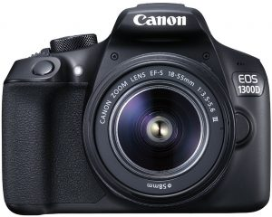 Canon EOS 1300D + 18-55mm DC III Kit