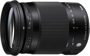 Sigma 18-300mm f/3.5-6.3 DC Macro HSM Contemporary objektiiv Pentaxile