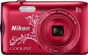 Nikon Coolpix A300, Lineart punane