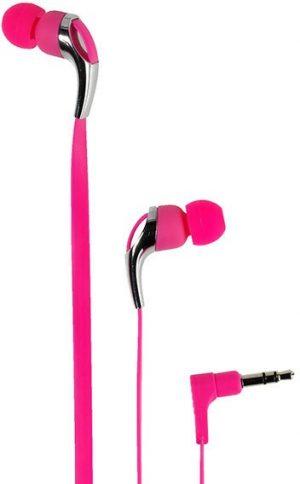Vivanco kõrvaklapid Neon Buds, roosa (37306)