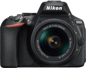 Nikon D5600 + 18-55mm AF-P VR Kit, must