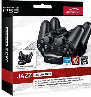Speedlink puldi laadija PS3 Jazz, must (SL-4411)