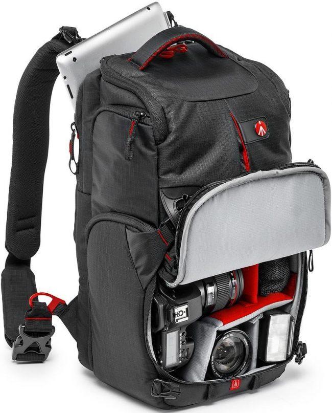 Manfrotto seljakott Pro Light Camera Backpack, must (MB PL-3N1-25)