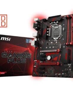 Mainboard | MSI | Intel Z370 Express | LGA1151 | ATX | 4xPCI-Express 3.0 1x | 2xPCI-Express 3.0 16x | Memory DDR4 | Memory slots 4 | 1x15pin D-sub | 1xDVI | 1xDisplayPort | 2xUSB 2.0 | 4xUSB 3.1 | 1xPS/2 | 1xRJ45 | 6xAudio port | Z370GAMINGPLUS