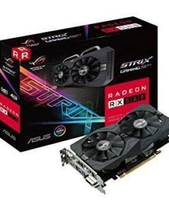 Graphics Card | ASUS | AMD Radeon RX 560 | 4 GB | 128 bit | PCIE 3.0 16x | GDDR5 | Memory 7000 MHz | GPU 1336 MHz | Dual Slot Fansink | 1xDVI | 1xHDMI | 1xDisplayPort | ROG-STRIX-RX560-O4G-GAM