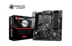 Mainboard | MSI | Intel Z270 Express | LGA1151 | MicroATX | 2xPCI-Express 3.0 1x | 2xPCI-Express 3.0 16x | 2xM.2 | Memory DDR4 | Memory slots 4 | 1x15pin D-sub | 1xHDMI | 1xDisplayPort | 1xPS/2 | Z370MMORTAR