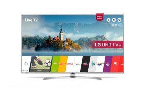 "TV Set | LG | 4K/Smart | 43"" | 3840x2160 | Wireless LAN | WiDi | webOS | 43UJ701V"