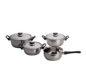 7-osaline pottide komplekt (Lifetime Cooking)