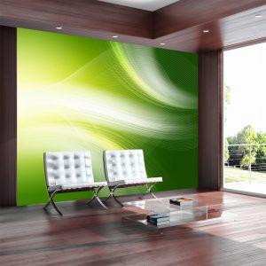 Fototapeet - Green abstract background