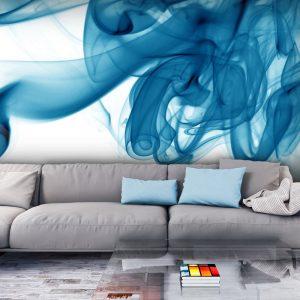 Fototapeet - Blue smoke