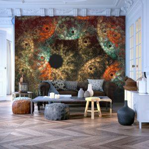 Fototapeet - dreams - abstract pattern