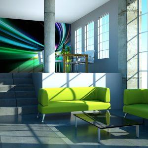 Fototapeet - Abstract design - speed