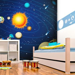 Fototapeet - Solar system