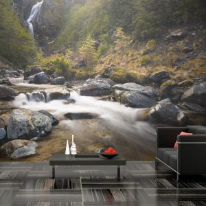 Fototapeet - Ohakune - Waterfalls in New Zealand