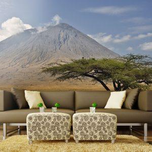 Fototapeet - Ol Doinyo Lengai Volcano - Tanzania