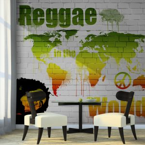 Fototapeet - Reggae in the world