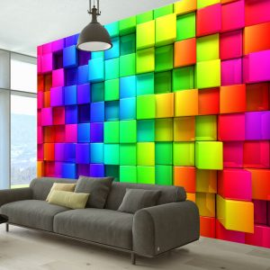 Fototapeet - Colourful Cubes