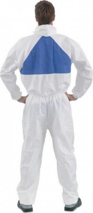 Kaitsekombinesoon valge XL