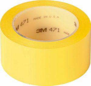Vinüülteip 471 kollane 50mm x 33m