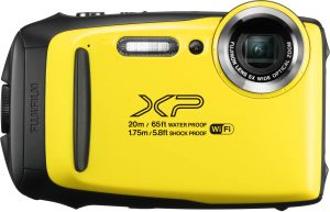 Fujifilm FinePix XP130, kollane