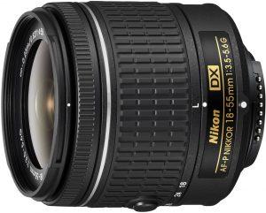 Nikon AF-P DX Nikkor 18-55mm f/3.5-5.6G objektiiv