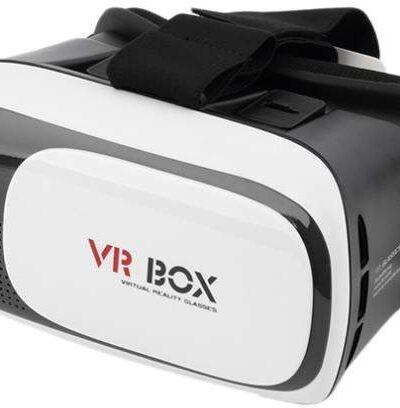 Omega 3D-virtuaalreaalsuse prillid VR Box + pult (43485)