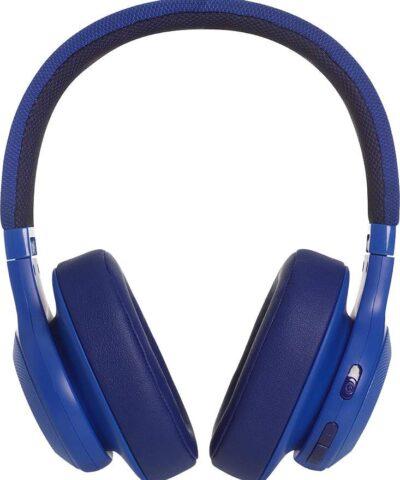 JBL juhtmevabad kõrvaklapid + mikrofon E55BT, sinine