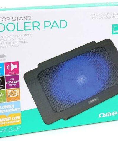 Omega sülearvuti jahutusalus Breeze, must (42151)