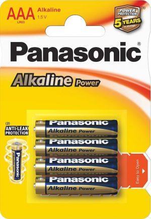 Panasonic Alkaline Power patarei LR03APB/4B