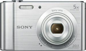 Sony DSC-W800, hõbedane