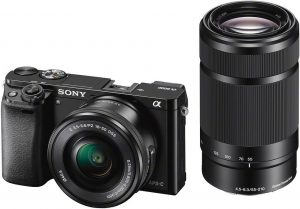 Sony a6000 + 16-50mm + 55-210mm Kit, must