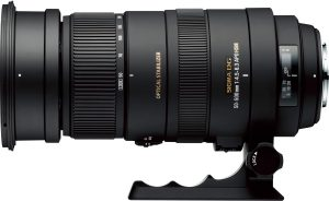 Sigma 50-500mm f/4.5-6.3 APO DG OS HSM objektiiv Nikonile