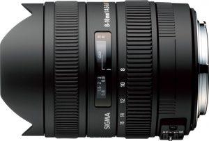 Sigma 8-16mm f/4.5-5.6 DC HSM objektiiv Nikonile