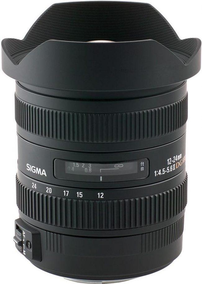 Sigma 12-24mm f/4.5-5.6 EX DG HSM II objektiiv Nikonile