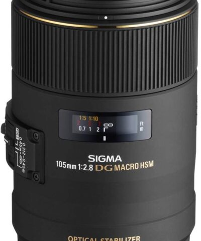 Sigma 105mm f/2.8 EX DG OS HSM Macro objektiiv Canonile