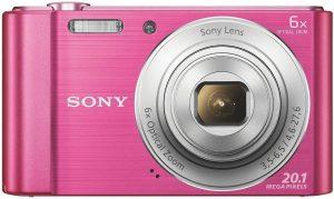 Sony DSC-W810, roosa