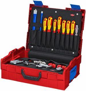 tööriistakast L-BOXX torutööde kmpl 52 osa