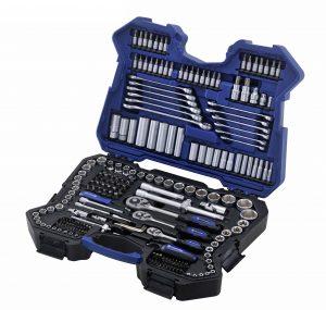 "Tööriistakomplekt  215-osaline 1/4""+1/2""+3/8"" CV"
