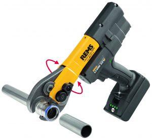 Pressinstrument REMS Mini-Press 22 V ACC Basic-Pack L-Box