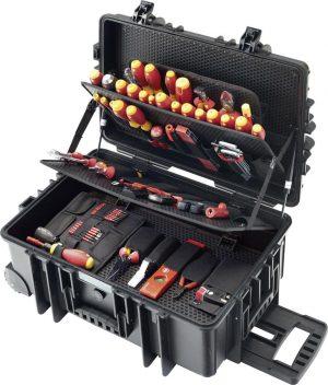 VDE-Tööriistakohver 115-osaline WIHA ratastega kohver