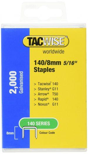 Klambrid 140/8mm (2000/tk pakk) blister