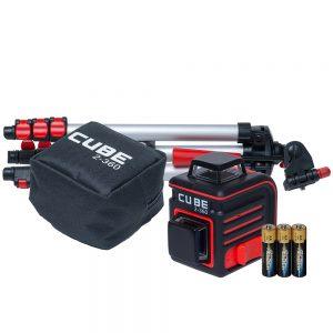 Laserlood CUBE 2-360 20m/70m vastuvõtjaga