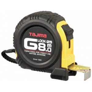 Mõõdulint 8 m/25 mm G-Lock