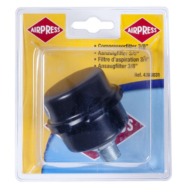 "Filter kompressorile 3/8"" metallist"