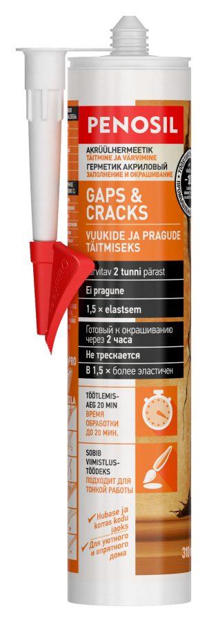 Akrüülhermeetik Gaps&Cracks valge 310ml