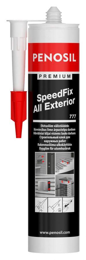 Montaaziliim SpeedFix All Exterior 777 290ml Premium