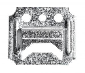 Voodrilauaklamber 2mm Zn (25/tk pakk)