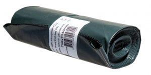 Extra ehitusprügikott 250l 5tk must+roheline/LDPE